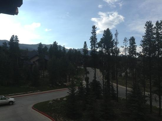 Grand Timber Lodge: view from the balcony