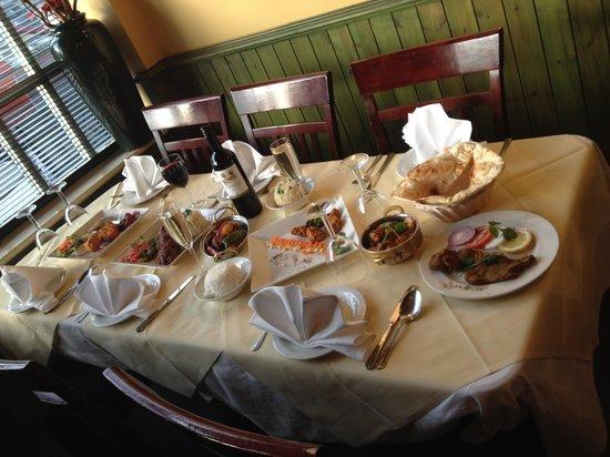 Zaffron Indian Restaurant: Zaffron restaurant