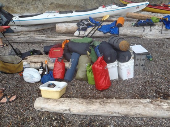 Outdoor Odysseys: Most of our crew gear and equipment