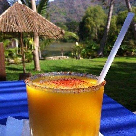 Yelapa Oasis: The best Mango Margaritas in town!