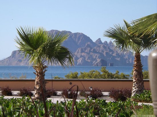 Villa del Palmar Beach Resort & Spa at The Islands of Loreto: View from the outdoor restaurant