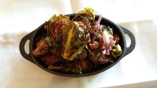 Local Restaurant & Bar: fried brussel sprouts