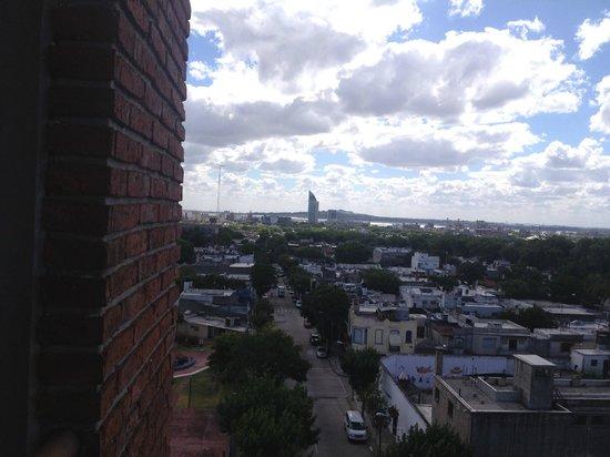 Hotel Tres Cruces: Vista do apartamento