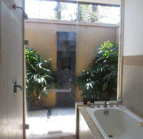 The Zen Villas: bathroom1 with outdoor shower
