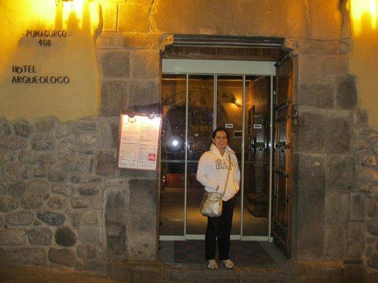 Hotel Arqueologo Exclusive Selection : Entrada hotel Arqueologo
