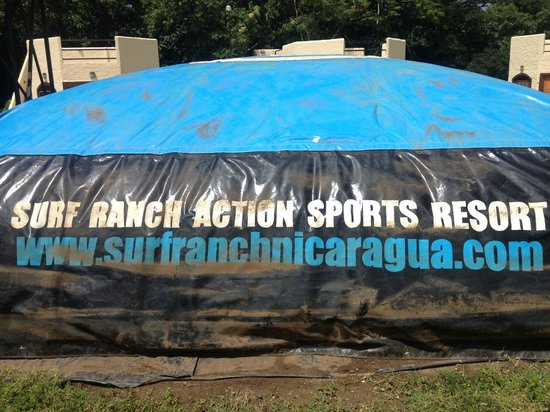 Surf Ranch Hotel & Resort: Air Pad!