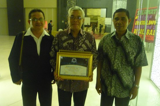 Hotel Marcopolo & Convention Hall: Marcopolo Hotel The Best Brand Award 2012