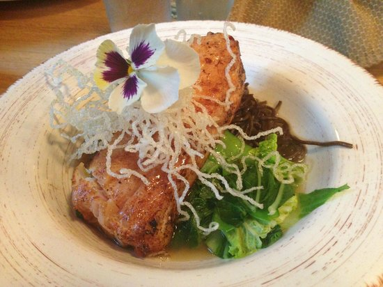 229 Parks Restaurant and Tavern: Creative, Asian spin on the Halibut over soba noodles. Memorable.