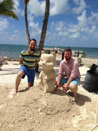 Just Sand And Water: Our final sculpture!