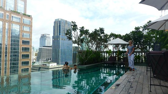 Hotel Muse Bangkok Langsuan Mgallery Collection Pool With A View
