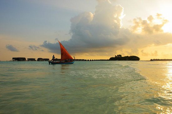 Cocoa Island by COMO: Dhoni At Sunset