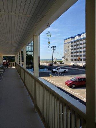 Sea Gull Motel: close to beach and beginning of the boardwalk