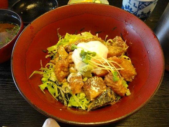 Toyotsune : りゅうきゅう丼