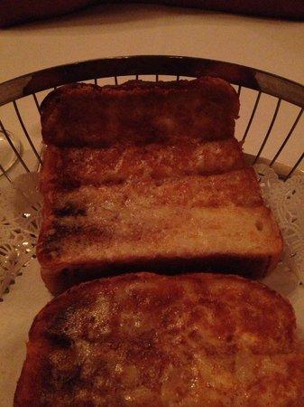 Hy's Steak House - Waikiki: cheese bread