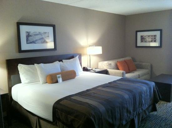 Wingate by Wyndham Los Angeles International Airport LAX: King bed with pull-out couch