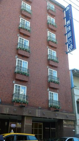 CJ Hotel : 外觀