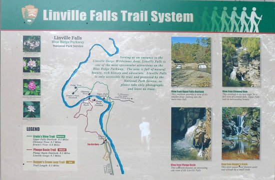 Linville Gorge : Trail options