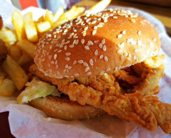 Stewby's Seafood Shanty : Soft Shell Crab Sandwich