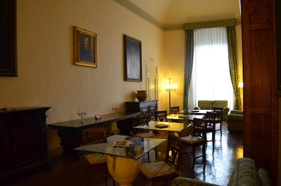 Palazzo Magnani Feroni: Common reading area