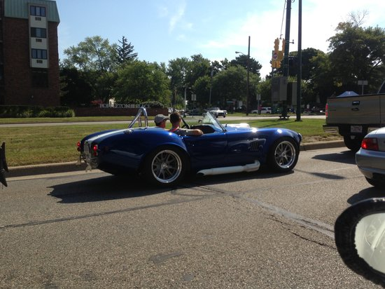 Woodward Avenue: all kinds of cars