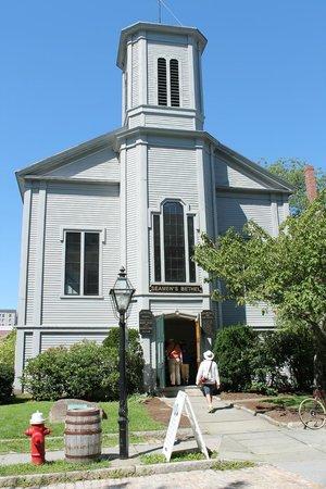 New Bedford Whaling National Historical Park: Seamen's Bethel