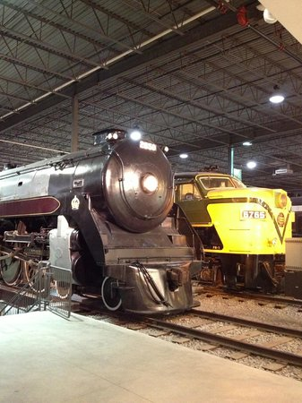 Exporail, the Canadian Railway Museum: Engines