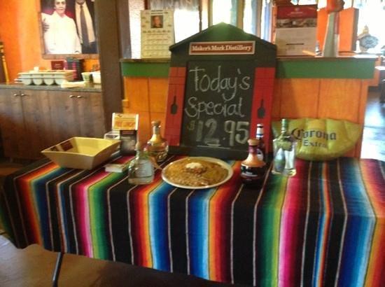 Casa Ramos : Dinner specials everyday