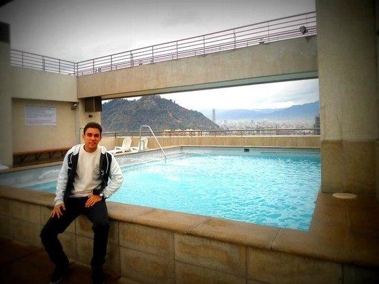 Apart Hotel Monjitas Center: Piscina