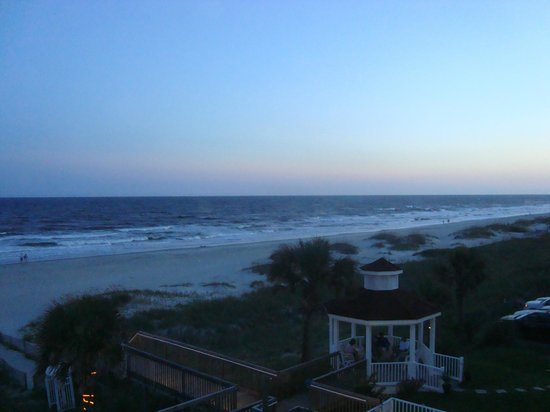 Islander Inn: View from balcony