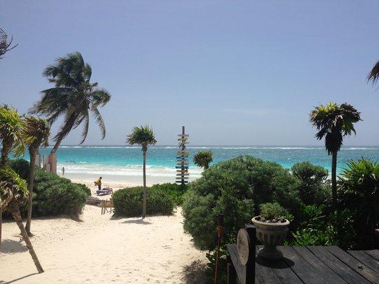 Playa Esperanza: View from Elo Suite deck