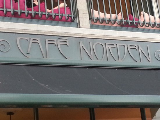 Cafe Norden: cartel