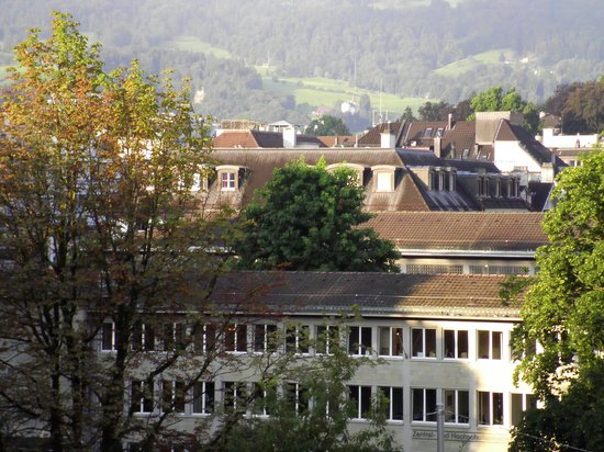 Hotel Alpina Luzern: ホテルの部屋からとりました。
