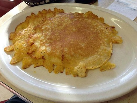 Smith Street Diner: Plate Sized Buttermilk Pancakes