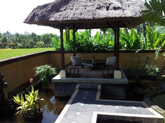 Mandala Desa: Outside area