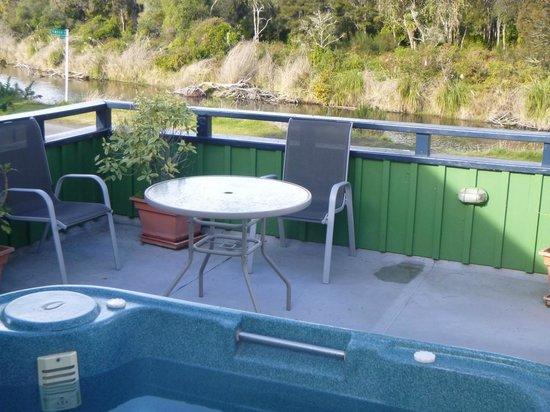 TroutBeck Fishing Lodge: spa area