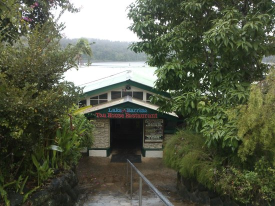 Lake Barrine Tea House, Restaurant And Cottage Accomodation: Entry to Lake Barrine Teahouse