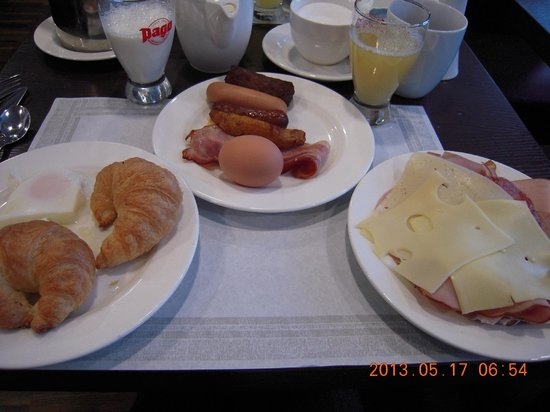 Rainers Hotel Vienna: 朝食