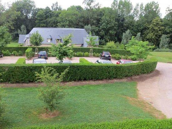 Les Manoirs de Tourgeville: View of the Manor suite