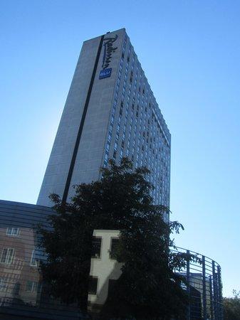 Radisson Blu Royal Hotel Copenhagen: vista del edificio
