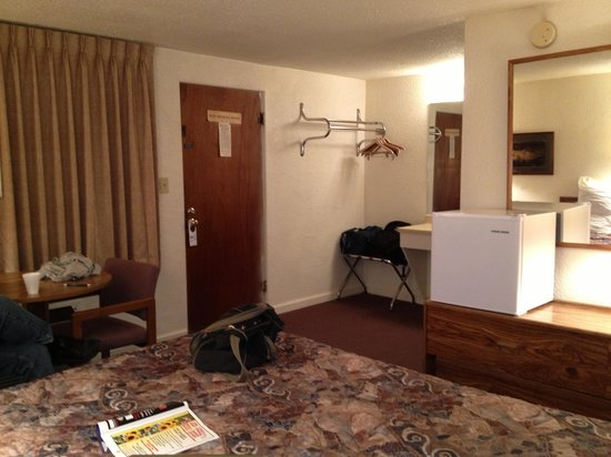 Tomahawk Lodge: Spacious rooms