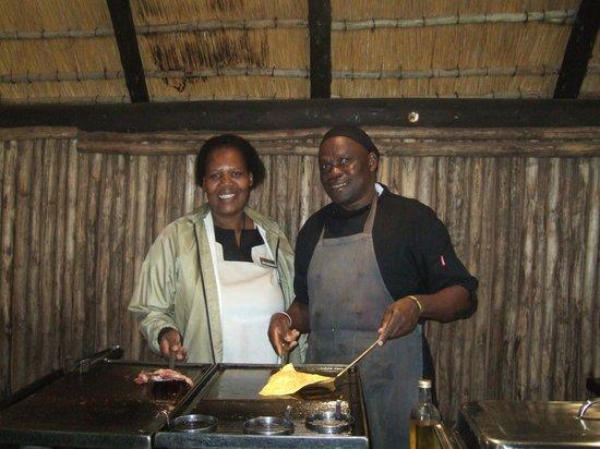 Ubizane Wildlife Reserve: Chef Samual L Jackson !!!