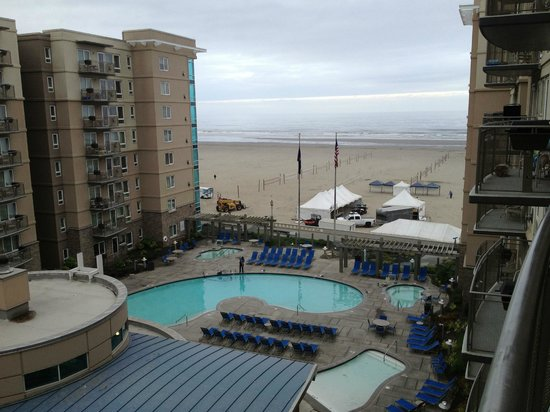 WorldMark by Wyndham Seaside: View From Room 6610