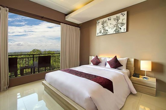DenBukit Residence and Suite: View from Double bedded 1-bedroom Studio Suite