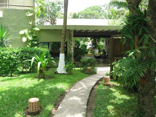 Casa del Mar Cozumel Hotel & Dive Resort: Entry area