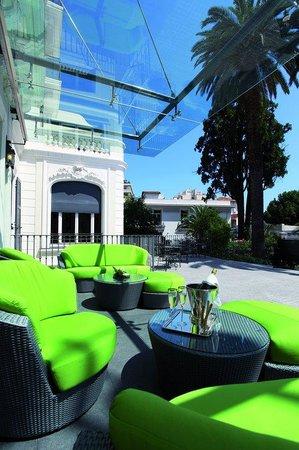 Villa Garbo: Salon Exterieur