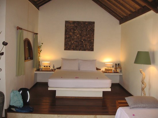 Laguna Gili Beach Resort: Interno del Cottage