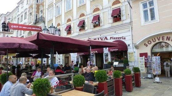 Ristorante Pizzeria RIVA : Great when the sun shines