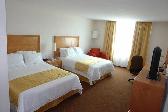 Holiday Inn Express Hotel & Suites Irapuato: Double Bed Guest Room