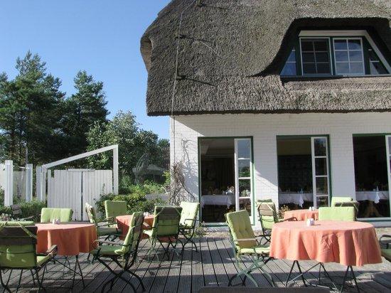 Hotel Haferland: Breakfast terrace