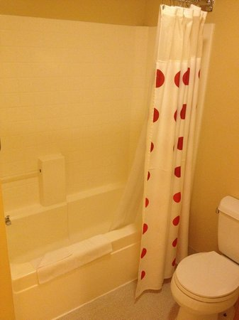TownePlace Suites Redwood City Redwood Shores: Bathroom
